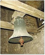 The 12th century sacring bell - St. Mary's, Old Hunstanton