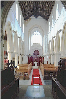 Internal view - St. Mary's, Brancaster