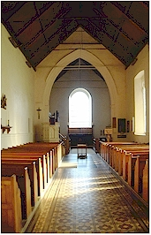 Church interior - St. Mary's, Holme-next-the-Sea