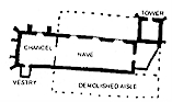 Plan - St. Mary's, Holme-next-the-Sea