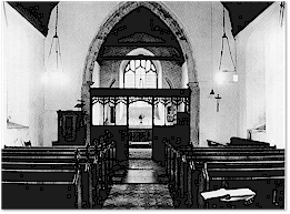 Chancel arch and Rood screen- St. Mary's, Titchwell