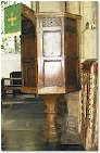 The Pulpit from 1635 - St. Mary's, Old Hunstanton